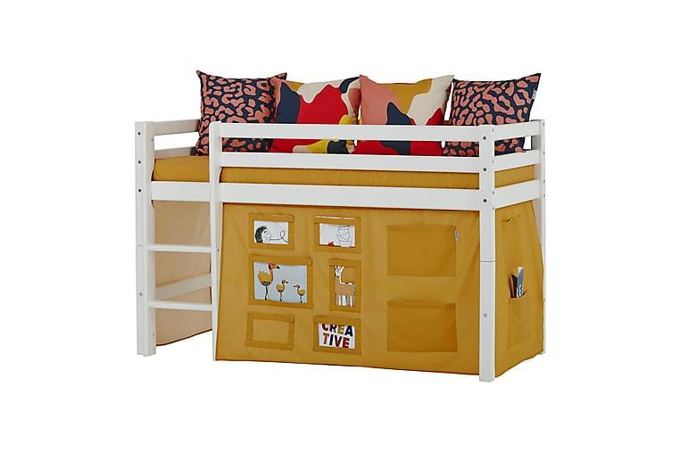 KORNALYCKE Draperi för våningssäng 160 cm Gul - Barn & bebis - Barnrumsinredning & leksaker