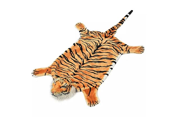 Tigermatta plysch 144 cm brun - Brun - Möbler & Inredning - Inredning - Barnmattor