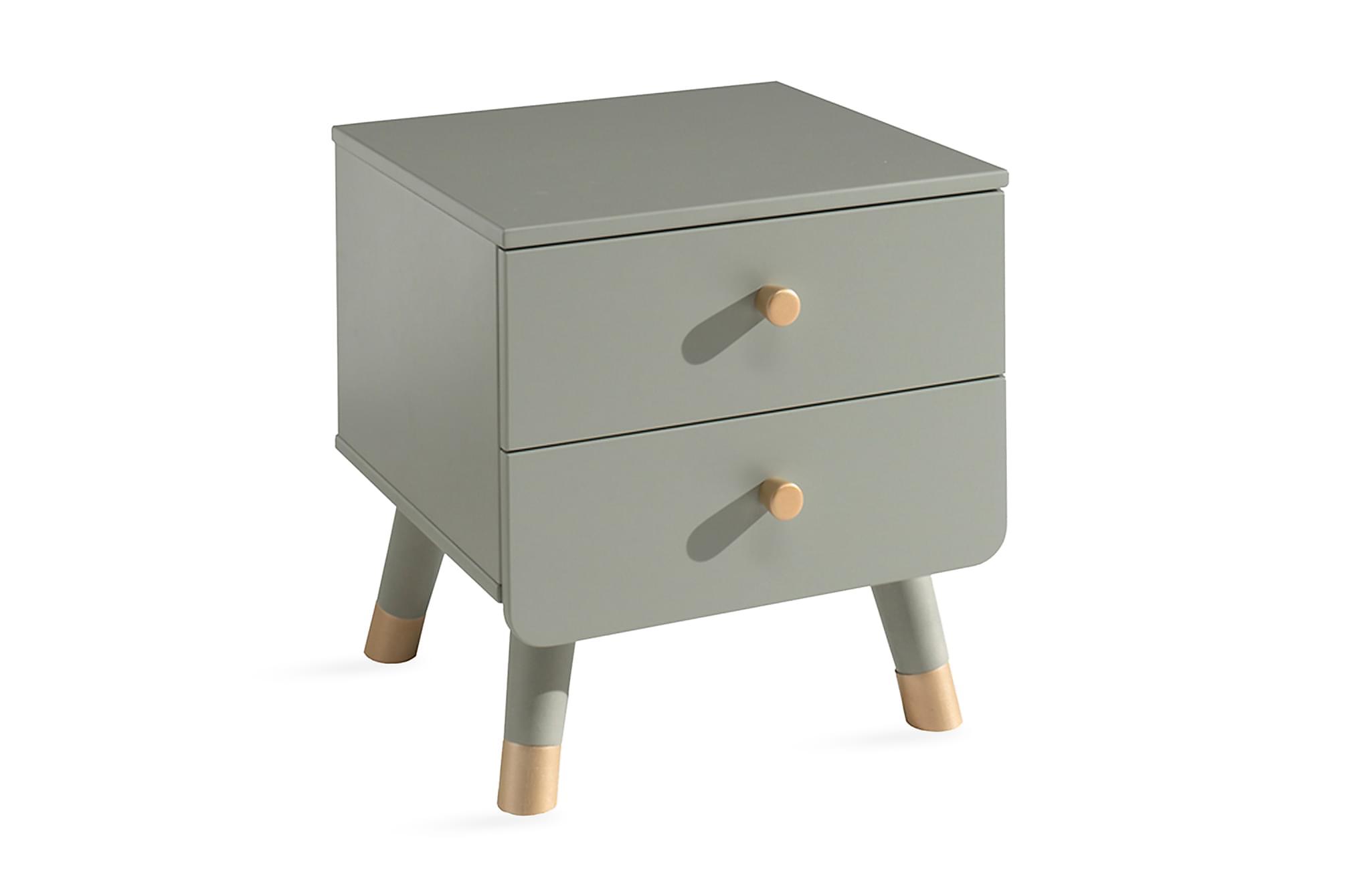 ARLUM Sängbord 43 cm Grön, Barnbord