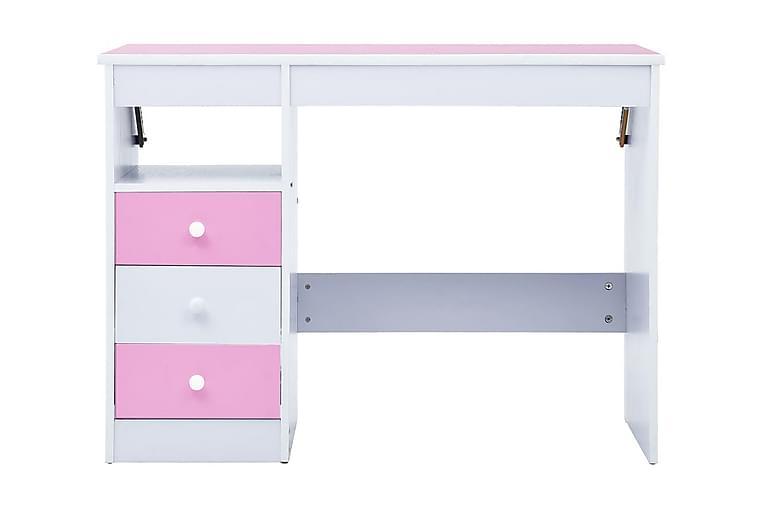 Skrivbord för barn lutbart rosa och vit - Rosa - Möbler & Inredning - Barnmöbler - Barnbord