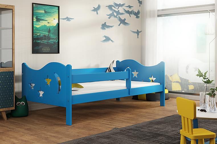 ENDY Säng 80x140 - Blå - Möbler & Inredning - Barnmöbler - Barnsängar & juniorsängar