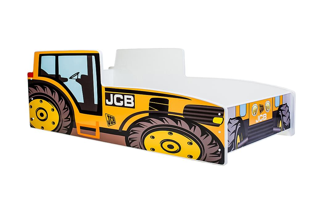 KENTON Barnsäng Traktor 70x140 Gul - Möbler & Inredning - Barnmöbler - Barnsängar & juniorsängar