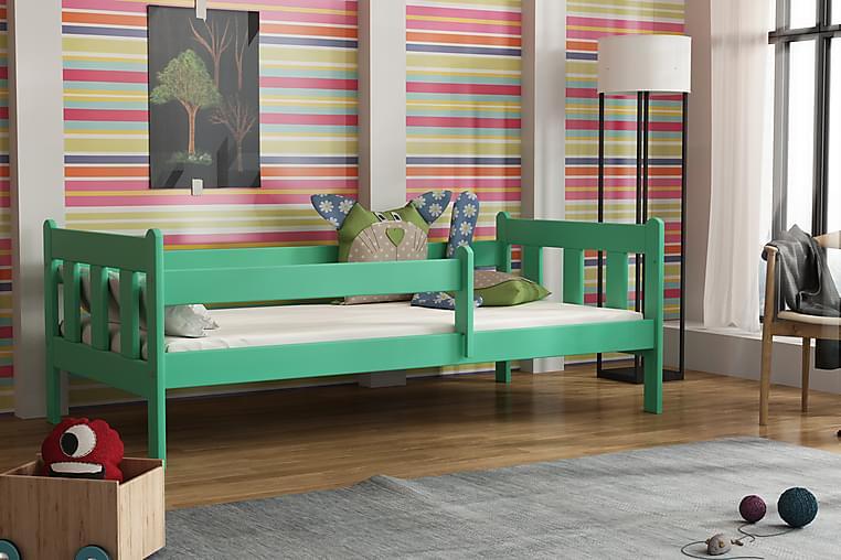 MORAY Säng 80 Grön - Grön - Möbler & Inredning - Barnmöbler - Barnsängar & juniorsängar