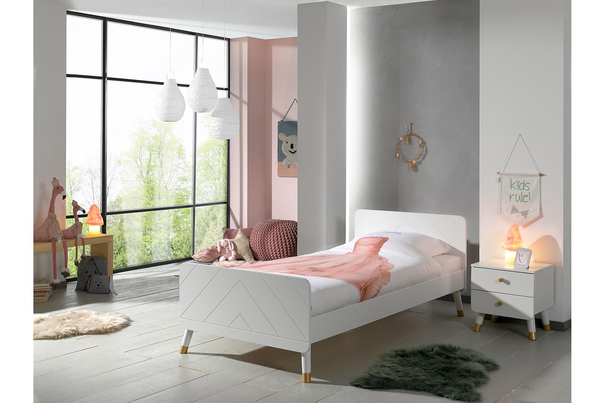 ARLUM Barnmöbelset Vit, Möbelset för sovrum