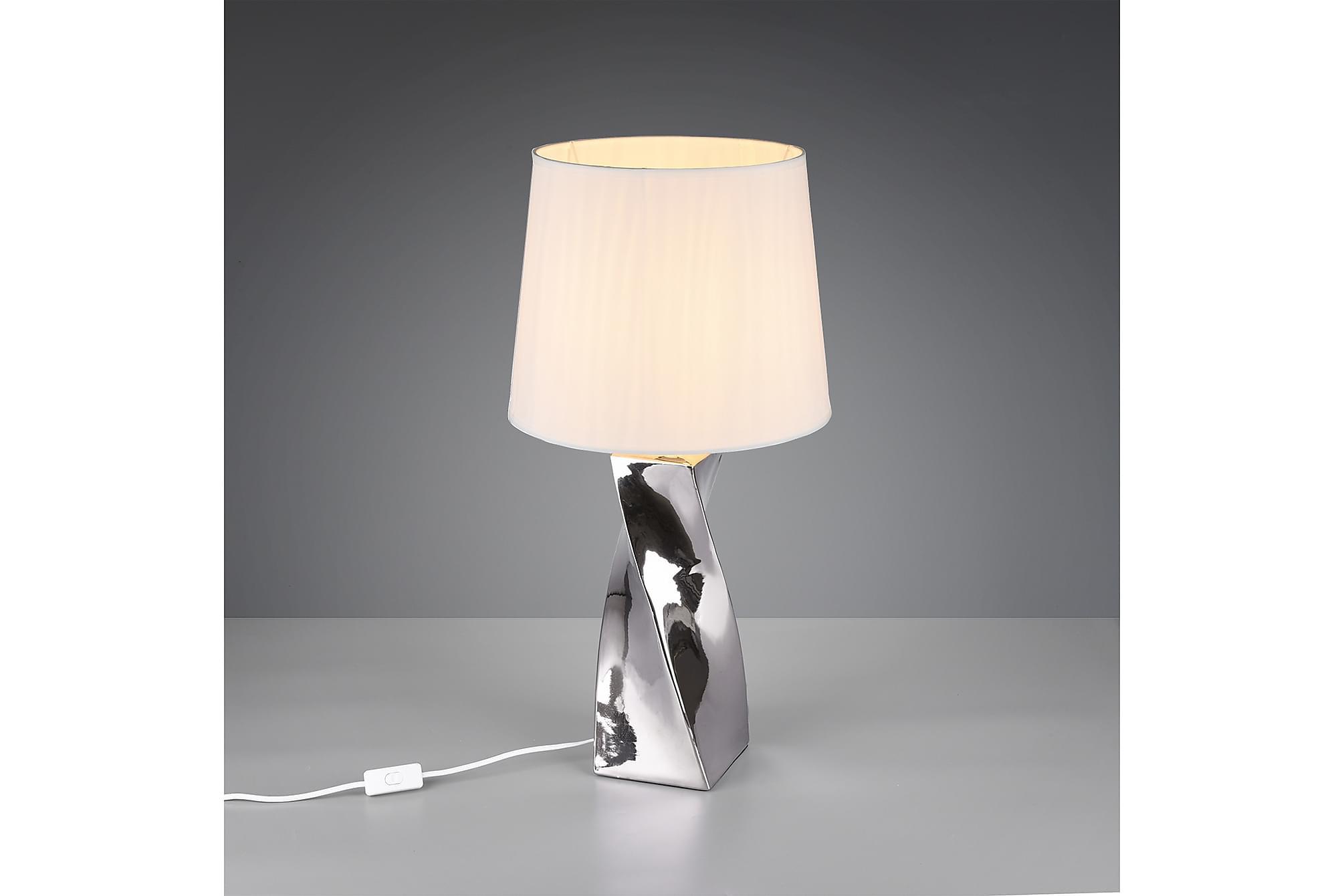 ABEBA Bordslampa Silver, Lampor