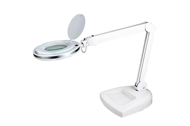 MAGNI Bordslampa Förstoring Vit - Halo Design - Möbler & Inredning - Belysning - Bordslampor