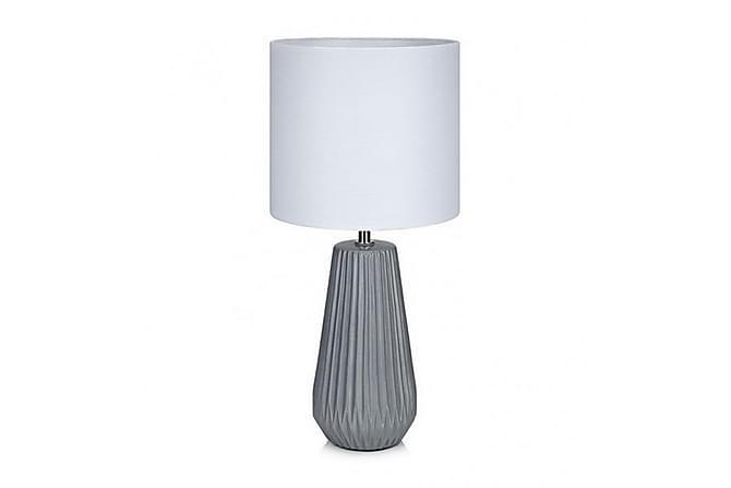 NICCI Bordslampa Grå/Vit - Inomhus - Belysning - Bordslampor
