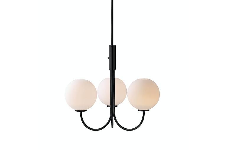 BALLON Ljuskrona G9 Svart/Glas - Herstal - Möbler & Inredning - Belysning - Taklampor