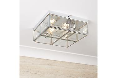 CLASSIC Taklampa 25 Dimbar 2 Lampor Krom/Blank