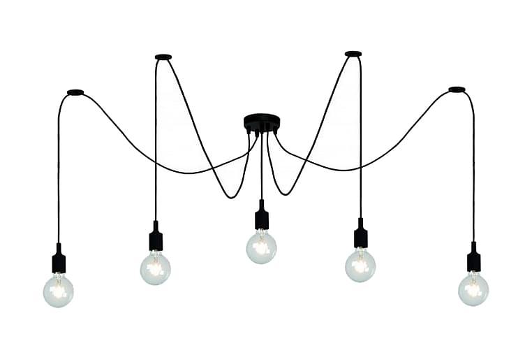 FIX Taklampa 150 Dimbar 5 Lampor Svart - Lucide - Möbler & Inredning - Belysning - Taklampor