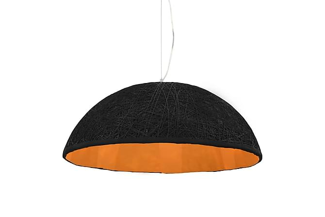 Hänglampa svart och guld Ø70 cm E27 - Svart|Guld - Möbler & Inredning - Belysning - Taklampor