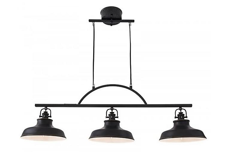NEW HAVEN Taklampa 96 3 Lampor Svart - Cottex - Möbler & Inredning - Belysning - Taklampor