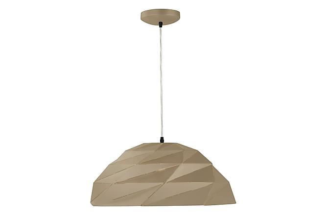 ORIGAMI Dome Pendellampa Metallic Guld - Möbler & Inredning - Belysning - Taklampor