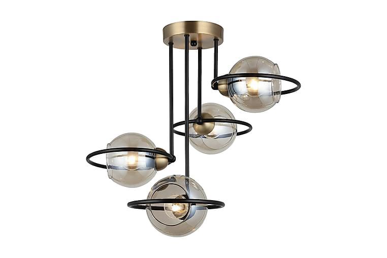 RINGO Pendellampa Guld/Svart - Homemania - Möbler & Inredning - Belysning - Taklampor