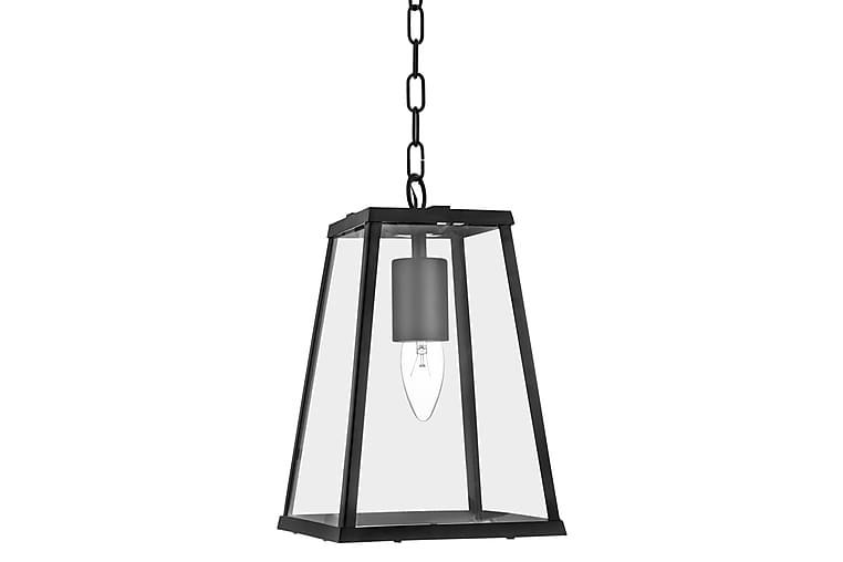 VOYAGER Lantern 1L Svart/Glas - Searchlight - Möbler & Inredning - Belysning - Taklampor