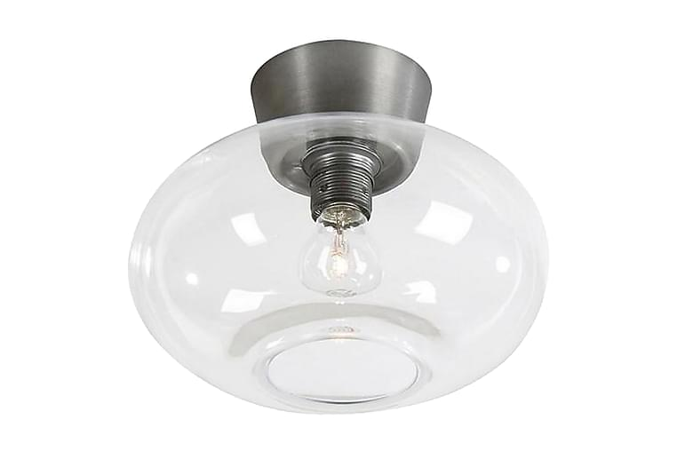 Bullo plafond oxidgrå/ klar glas D270 E27 60W - Möbler & Inredning - Belysning - Taklampor