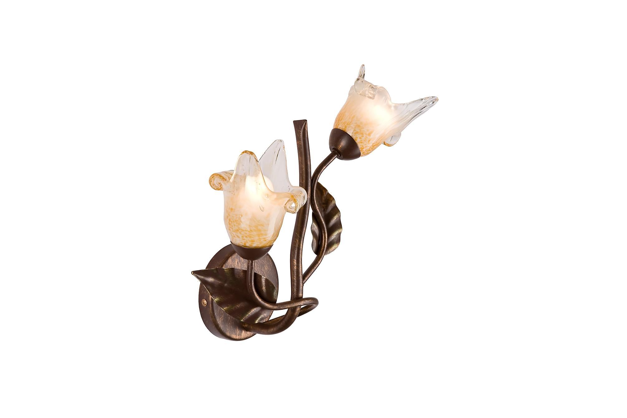 ALBAREDO Vägglampa Brun, Vägglampor