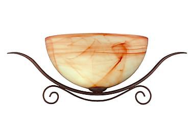 LAVADA Vägglampa Antik Antikbrun