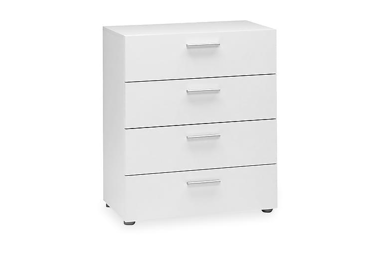 ROTELLA Byrå 70 4 Lådor Vit - Möbler & Inredning - Förvaring - Byråer