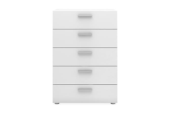 ROTELLA Byrå 70 5 Lådor Vit - Möbler & Inredning - Förvaring - Byråer