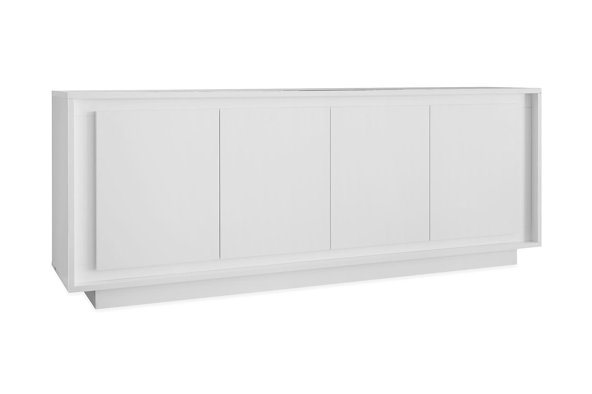 AIMILIO Sideboard 4 Dörrar Mattlack, Sideboards