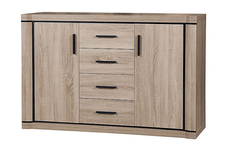 DALLAS Skänk 137x43,5x91 cm - Beige/Grå - Möbler & Inredning - Förvaring - Sideboards