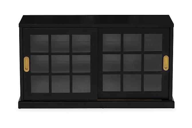 DEMONA Skänk 120 Svart - Möbler & Inredning - Bord - Avlastningsbord