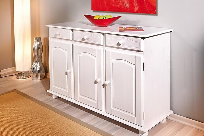 IDRE Skänk 130 Vit - Möbler & Inredning - Förvaring - Sideboards