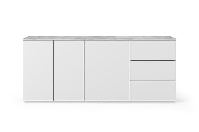 JILLCO Skänk 200x84 Marmor Vit - Möbler & Inredning - Förvaring - Sideboards