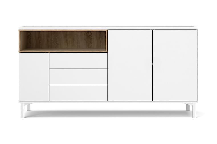 MELE Skänk 176 Vit/Brun - Möbler & Inredning - Förvaring - Sideboards