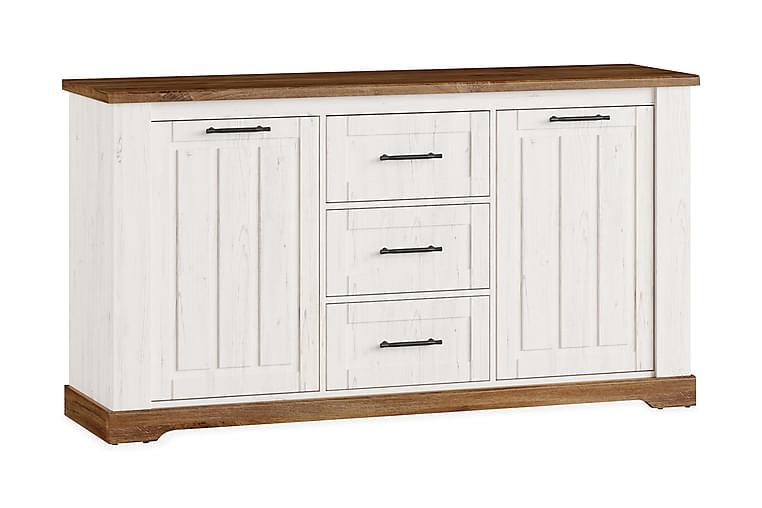 REVEL Skänk 163 Ek/Offwhite - Möbler & Inredning - Förvaring - Sideboards