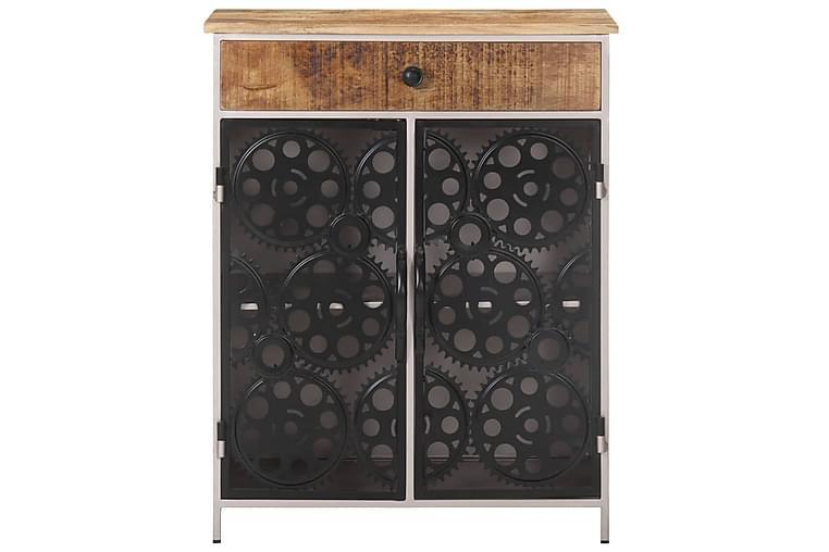 Skänk 60x35x75 cm grovt mangoträ och järn - Brun - Möbler & Inredning - Förvaring - Sideboards
