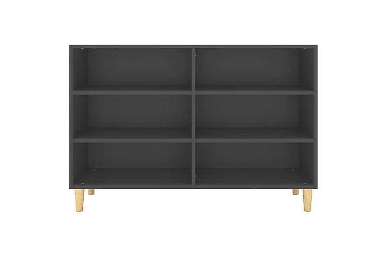 Skänk grå 103,5x35x70 cm spånskiva - Grå - Möbler & Inredning - Förvaring - Sideboards