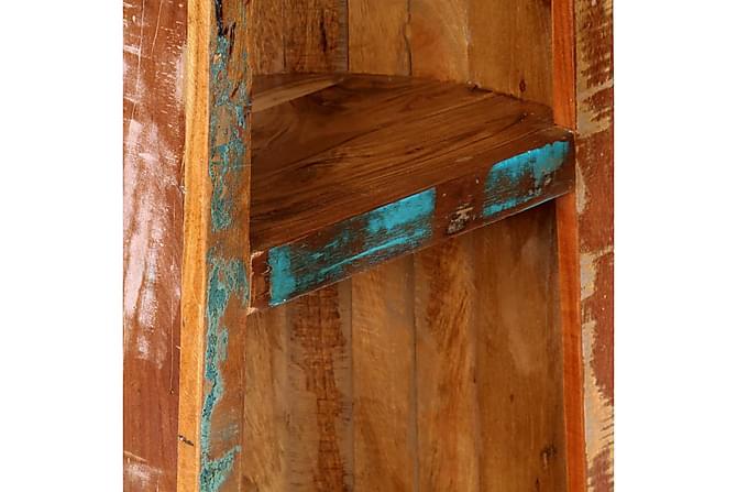Bokhylla 50x40x180 cm massivt återvunnet trä - Inomhus - Förvaring - Hyllor