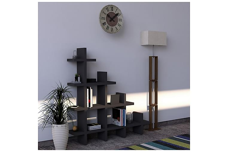 EDMONDSHAM Bokhylla 112 cm Antracit - Möbler & Inredning - Förvaring - Hyllor