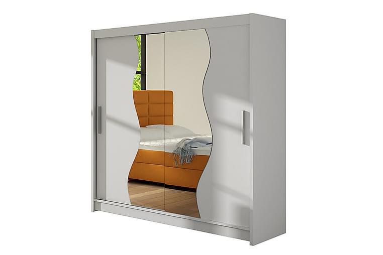 DOUGLAS Garderob 180 Vit - Vit - Möbler & Inredning - Förvaring - Garderober