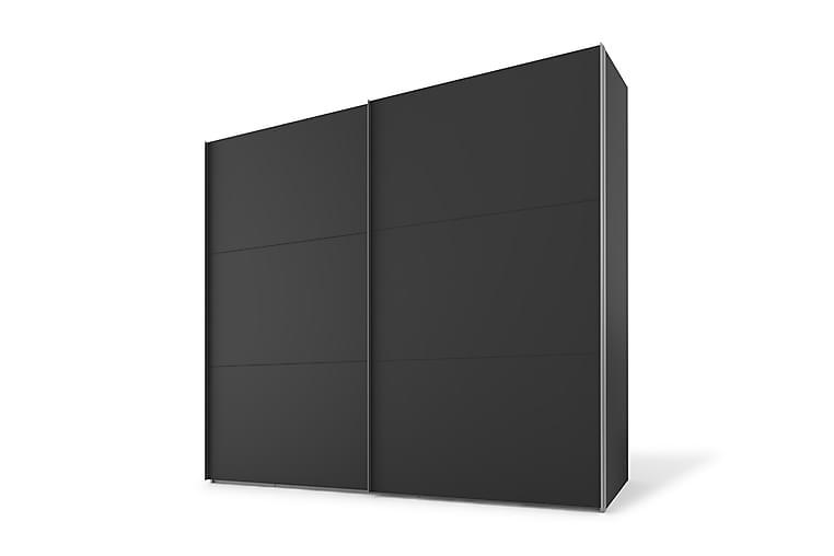EIFFERT Garderob 150 cm  Svart - Möbler & Inredning - Förvaring - Garderober
