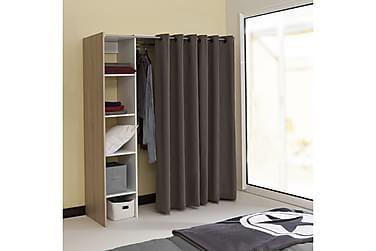 KANATA Garderobssystem 123/160 Vit/Ek