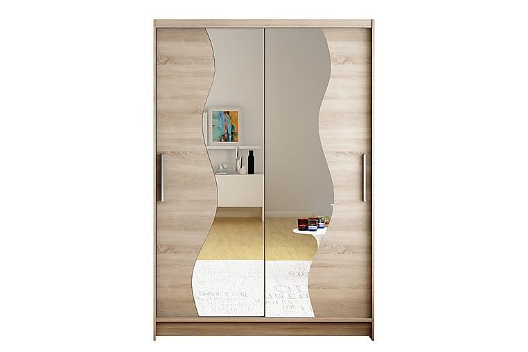 Miami Garderob 120x58x200 cm - Beige - Möbler & Inredning - Förvaring - Garderober