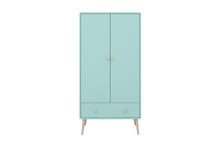 PACHUCA Garderob 80 cm Mint - Möbler & Inredning - Förvaring - Garderober