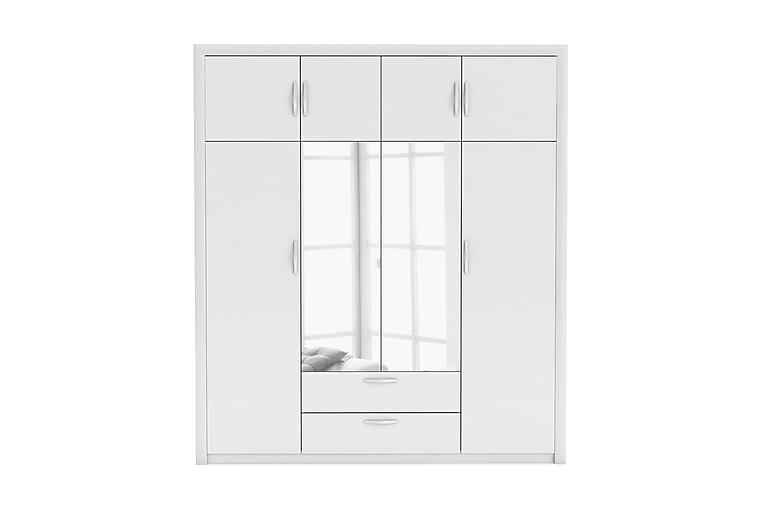 PLUTON Garderob 198 Vit - Möbler & Inredning - Förvaring - Garderober