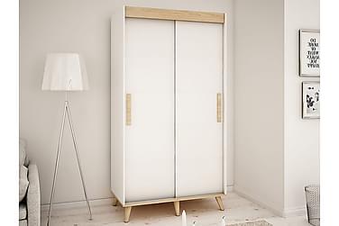 SKANDI Garderob 120x62x208 cm