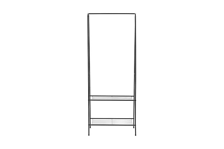 Klädställning 59x35x150 cm svart - Svart - Möbler & Inredning - Förvaring - Klädhängare & hängare
