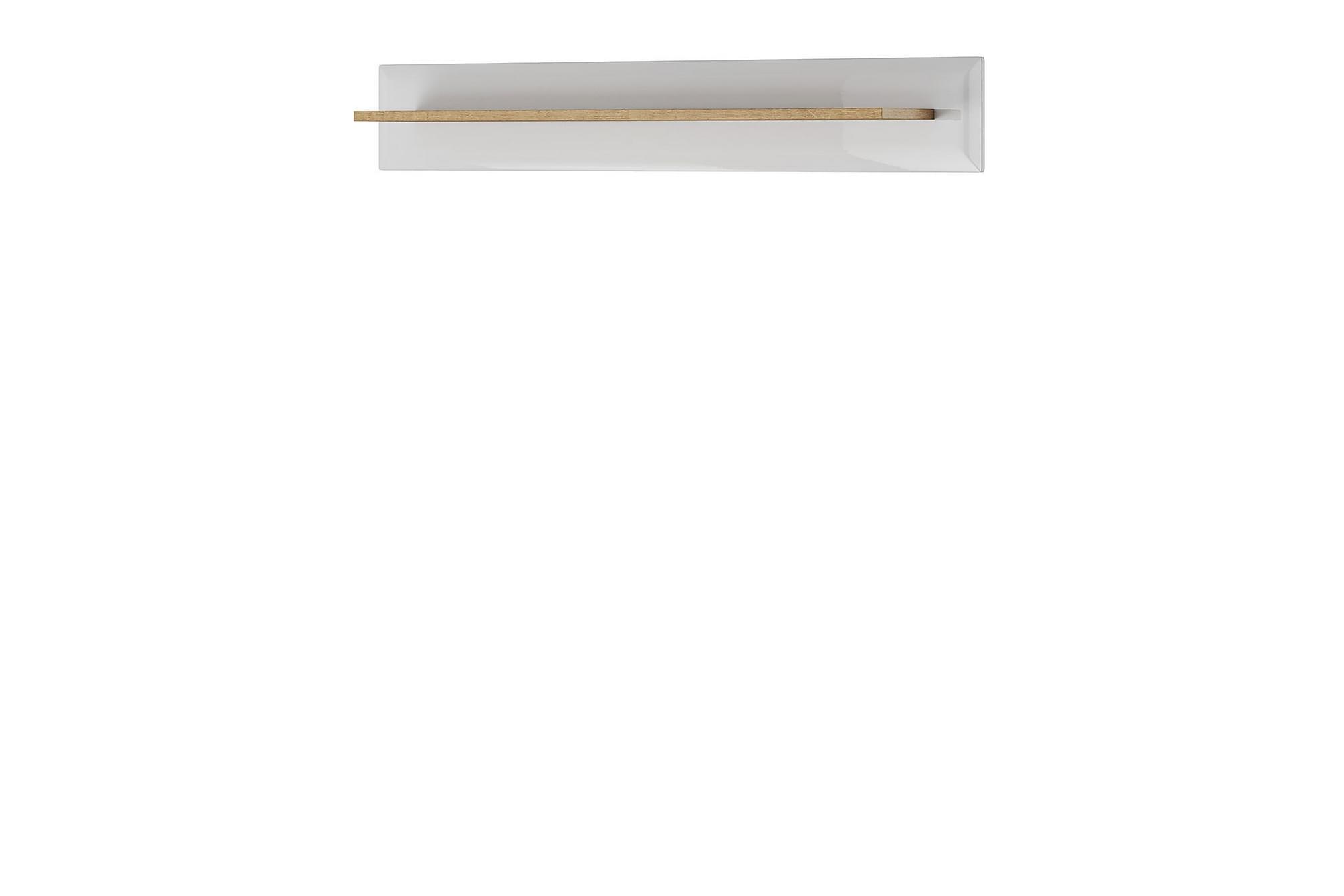 NORDI Vägghylla 107x19x17 cm