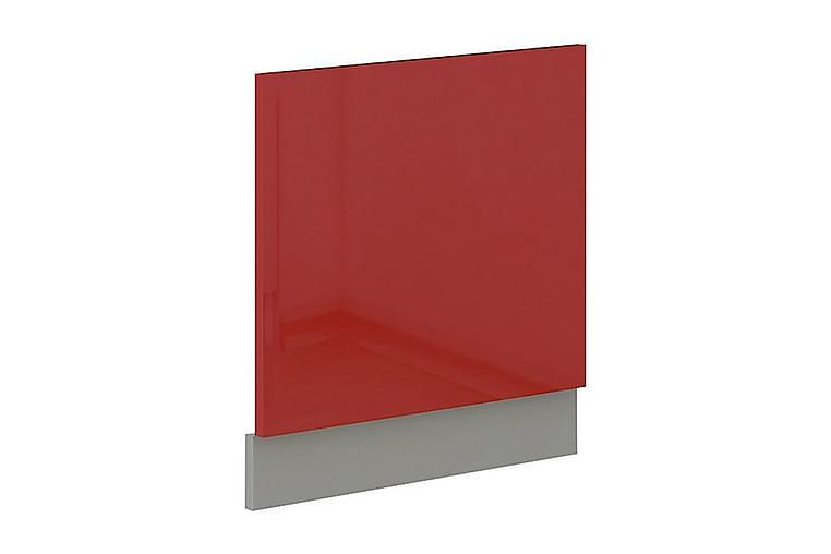 ROSE Dörr för diskmaskin 59,6x1,6x57 cm - Röd - Möbler & Inredning - Inredning - Köksskåp