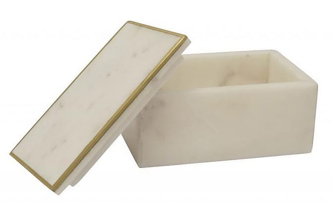CIARA Smyckeskrin Vit/Marmor/Mässing - Möbler & Inredning - Inredning - Dekoration