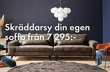 Skräddarsy din egen soffa