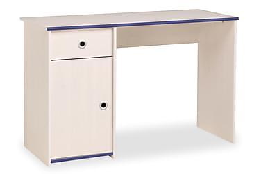 CHELSEA Skrivbord 121 Vit/Rosa /Blå