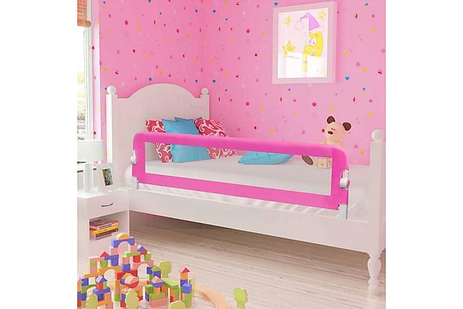 Sängskena för barn 2 st rosa 150x42 cm - Rosa - Möbler & Inredning - Barnmöbler - Barnsängar & juniorsängar
