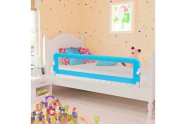 SÄNGSKENA för barn blå 120x42 cm polyester